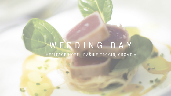 Catering a'la Pašike at the Wedding Fair in traditional and modern spirit